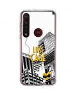 Marvel The Defenders Luke Cage Moto G8 Plus Clear Case