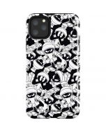 Marvin Super Sized Pattern iPhone 11 Pro Max Impact Case