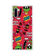 Marvin the Martian Patches Galaxy Note 10 Clear Case