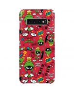Marvin the Martian Patches Galaxy S10 Plus Lite Case