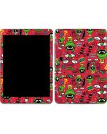 Marvin the Martian Patches Apple iPad Skin