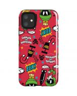 Marvin the Martian Patches iPhone 11 Impact Case
