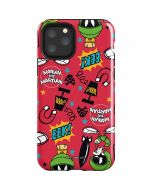 Marvin the Martian Patches iPhone 11 Pro Impact Case