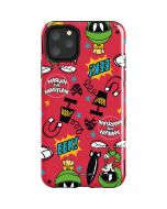 Marvin the Martian Patches iPhone 11 Pro Max Impact Case