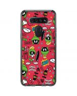 Marvin the Martian Patches LG K51/Q51 Clear Case