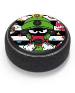 Marvin the Martian Striped Patches Amazon Echo Dot Skin