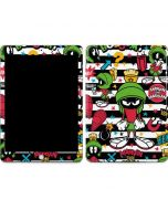 Marvin the Martian Striped Patches Apple iPad Skin