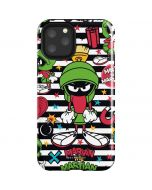 Marvin the Martian Striped Patches iPhone 11 Pro Impact Case