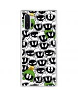 Marvin the Martian Super Sized Galaxy Note 10 Clear Case