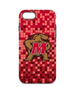 Maryland Terrapins Digi Camo iPhone 8 Pro Case