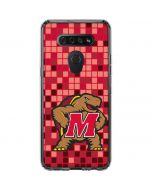 Maryland Terrapins Digi Camo LG K51/Q51 Clear Case