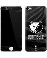 Memphis Grizzlies Black Animal Print Apple iPod Skin