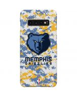 Memphis Grizzlies Digi Camo Galaxy S10 Plus Lite Case