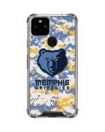 Memphis Grizzlies Digi Camo Google Pixel 5 Clear Case