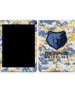 Memphis Grizzlies Digi Camo Apple iPad Skin