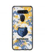 Memphis Grizzlies Digi Camo LG K51/Q51 Clear Case