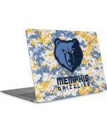 Memphis Grizzlies Digi Camo Apple MacBook Air Skin