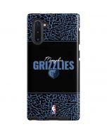 Memphis Grizzlies Elephant Print Galaxy Note 10 Pro Case