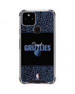 Memphis Grizzlies Elephant Print Google Pixel 5 Clear Case