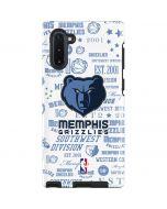 Memphis Grizzlies Historic Blast Galaxy Note 10 Pro Case