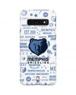 Memphis Grizzlies Historic Blast Galaxy S10 Plus Lite Case