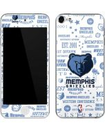 Memphis Grizzlies Historic Blast Apple iPod Skin