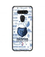 Memphis Grizzlies Historic Blast LG K51/Q51 Clear Case