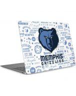 Memphis Grizzlies Historic Blast Apple MacBook Air Skin