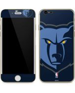 Memphis Grizzlies Large Logo iPhone 6/6s Skin