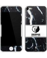 Memphis Grizzlies Marble Apple iPod Skin