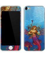Mermaid Water Fairy Apple iPod Skin