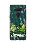 Metal Green Lantern LG K51/Q51 Clear Case