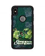 Metal Green Lantern Otterbox Commuter iPhone Skin