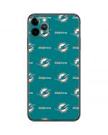 Miami Dolphins Blitz Series iPhone 11 Pro Max Skin