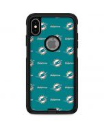 Miami Dolphins Blitz Series Otterbox Commuter iPhone Skin