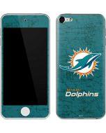 Miami Dolphins Distressed- Aqua  Apple iPod Skin