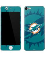 Miami Dolphins Double Vision Apple iPod Skin