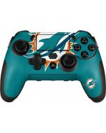 Miami Dolphins Large Logo PlayStation Scuf Vantage 2 Controller Skin