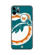 Miami Dolphins Retro Logo iPhone 11 Pro Max Skin