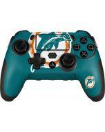Miami Dolphins Retro Logo PlayStation Scuf Vantage 2 Controller Skin