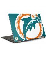 Miami Dolphins Retro Logo Dell XPS Skin