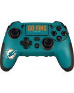 Miami Dolphins Team Motto PlayStation Scuf Vantage 2 Controller Skin