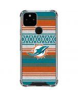 Miami Dolphins Trailblazer Google Pixel 5 Clear Case