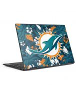 Miami Dolphins Tropical Print HP Envy Skin