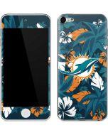 Miami Dolphins Tropical Print Apple iPod Skin