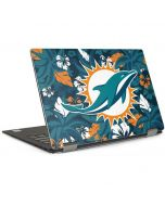 Miami Dolphins Tropical Print Dell XPS Skin