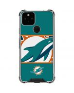 Miami Dolphins Zone Block Google Pixel 5 Clear Case