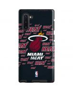 Miami Heat Blast Galaxy Note 10 Pro Case