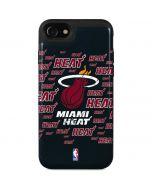 Miami Heat Blast iPhone SE Wallet Case