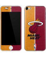 Miami Heat Canvas Apple iPod Skin
